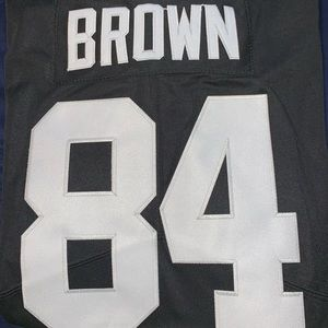 Antonio Brown Raiders Jersey